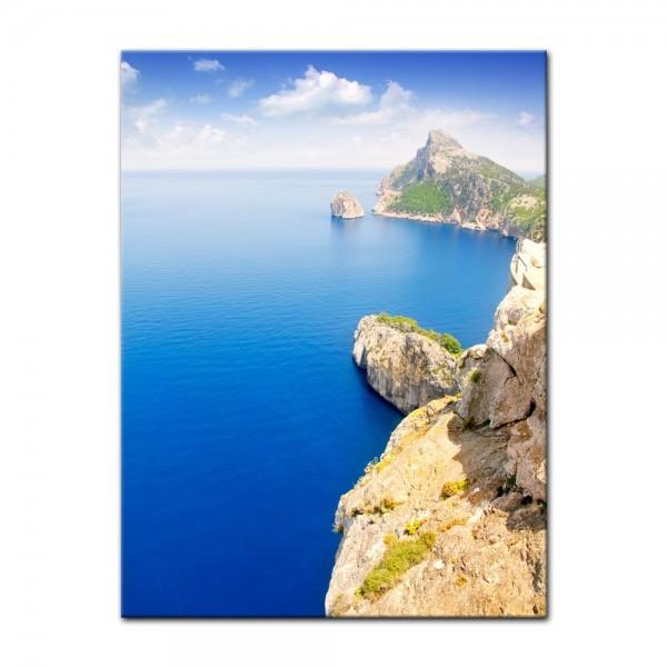 Leinwandbild - Cap Formentor - Mallorca