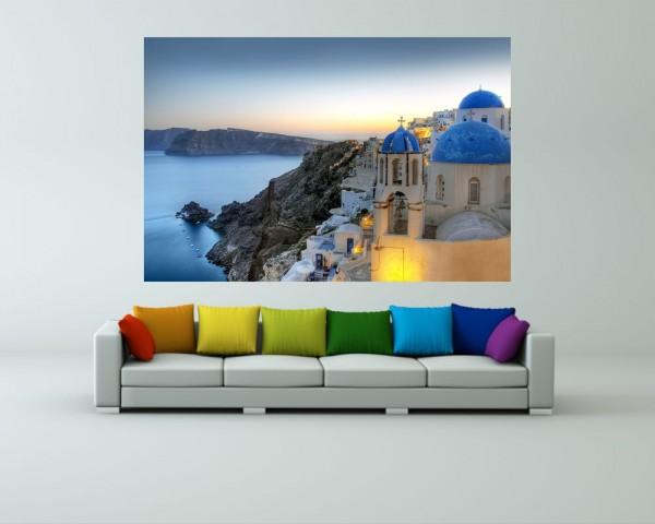 Fototapete - Santorini Griechenland