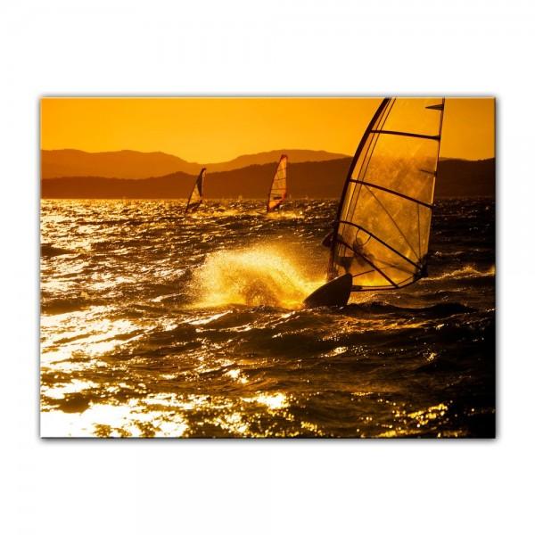 Leinwandbild - Surfing II