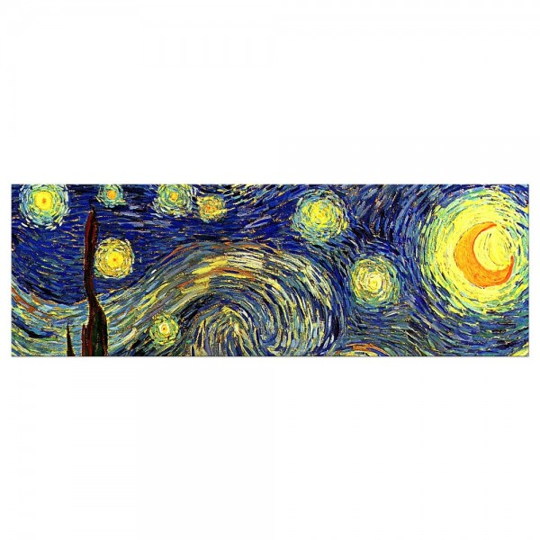 Leinwandbild - Vincent van Gogh - Sternennacht