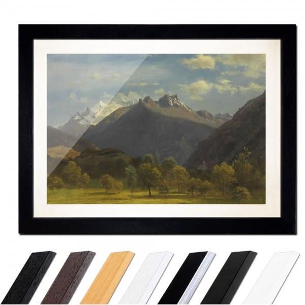 Albert Bierstadt - The Alps from Visp