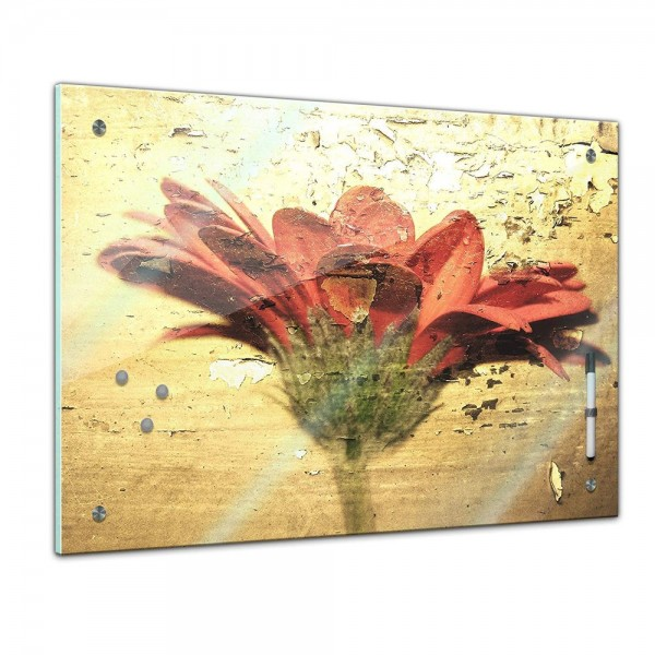 Memoboard - Pflanzen & Blumen - Blume Grunge