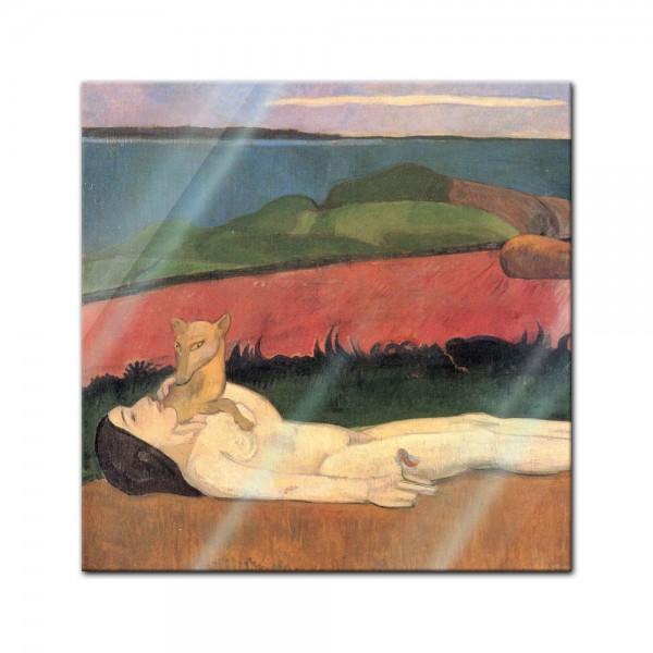 Glasbild Paul Gauguin - Alte Meister - Verlust der Jungfräulichkeit