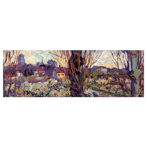 Leinwandbild - Vincent van Gogh - Blick auf Arles
