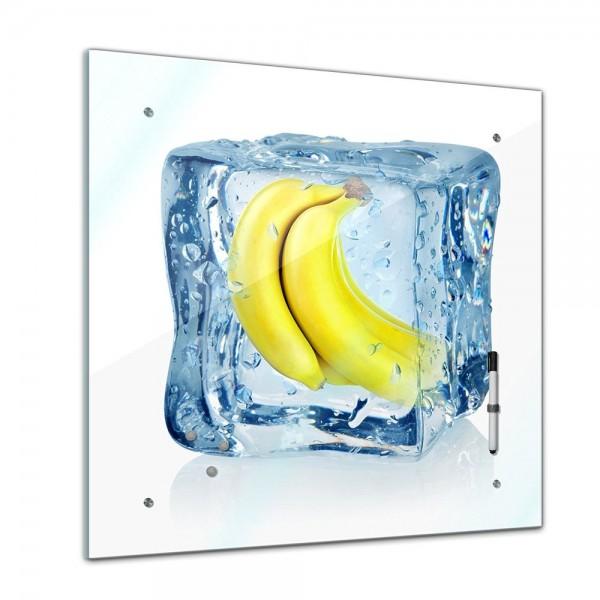 Memoboard - Essen & Trinken - Eiswürfel Bananen - 40x40 cm