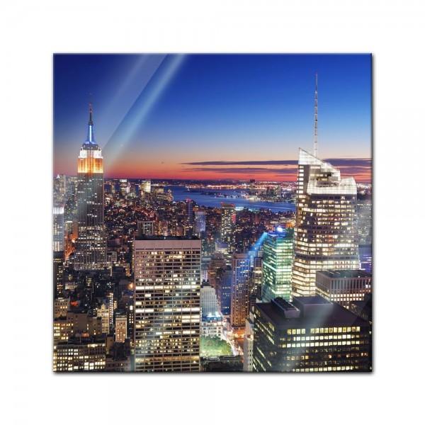 Glasbild - New York, New York