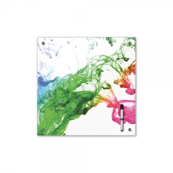 Memoboard - Geist & Seele - Relaxing Farben - 40x40 cm