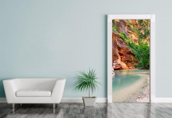 Türaufkleber Virgin River