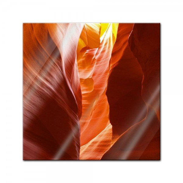 Glasbild - Antelope Canyon VI - Arizona USA