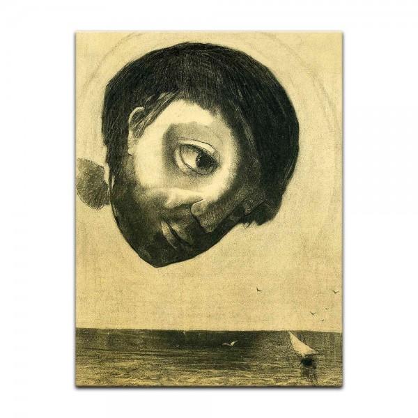 Leinwandbild - Odilon Redon - Schutzgeist der Gewässer
