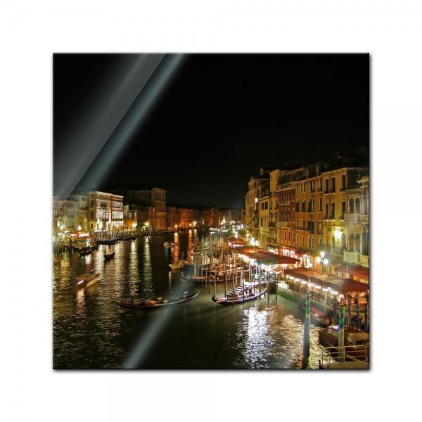 Glasbild - Venedig III