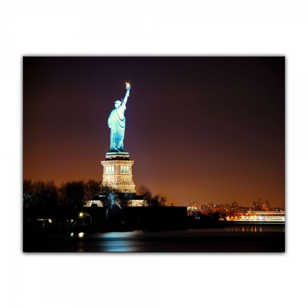 Leinwandbild - Freiheitsstatue, New York City