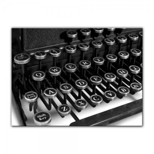Leinwandbild - Schreibmaschine