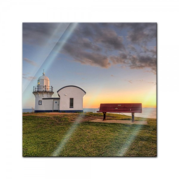 Glasbild - Leuchtturm - Port Macquarie