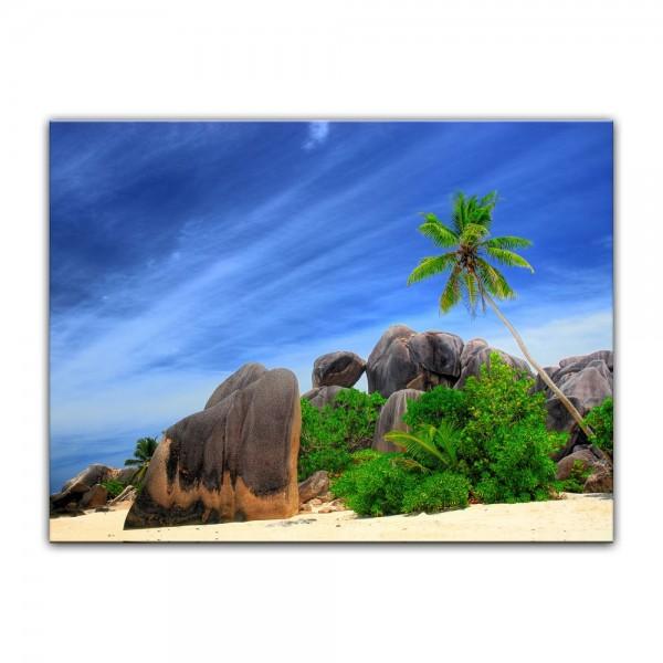 Leinwandbild - Seychellen Digue Island