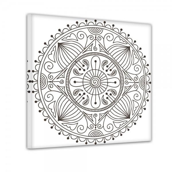 Mandala I - Ausmalbild