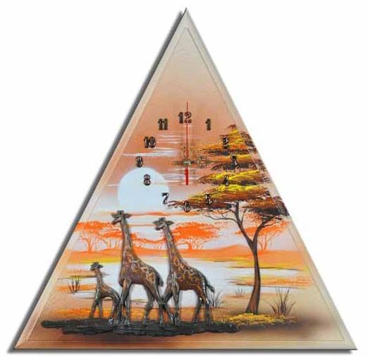 Wanduhr Giraffen F 06
