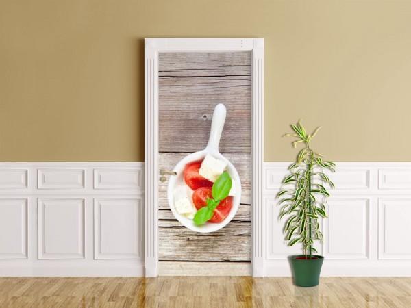 Türaufkleber - Italienischer Salat
