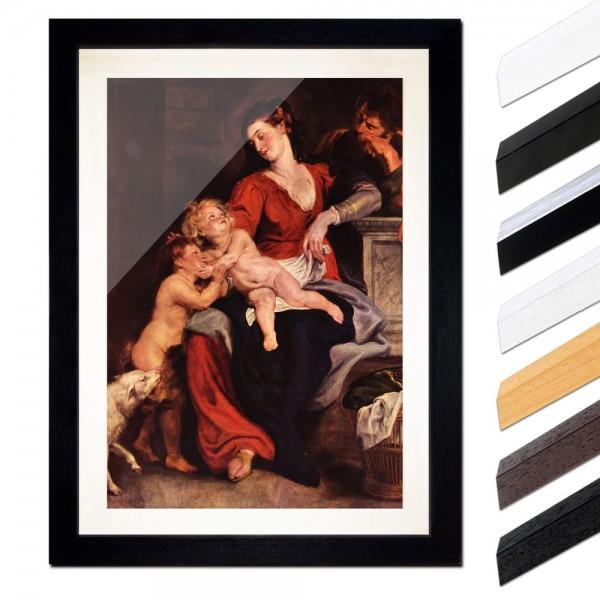 Peter Paul Rubens - Die Heilige Familie mit dem Korbe