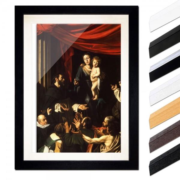 Caravaggio - Rosenkranzmadonna