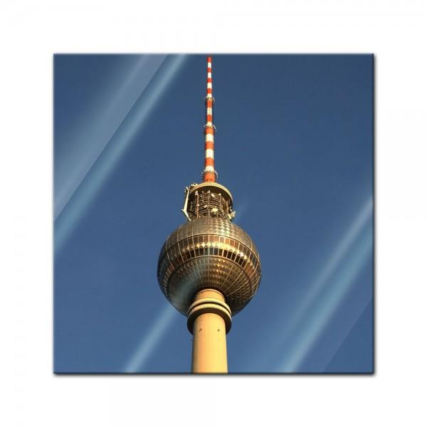 Glasbild - Berliner Fernsehturm