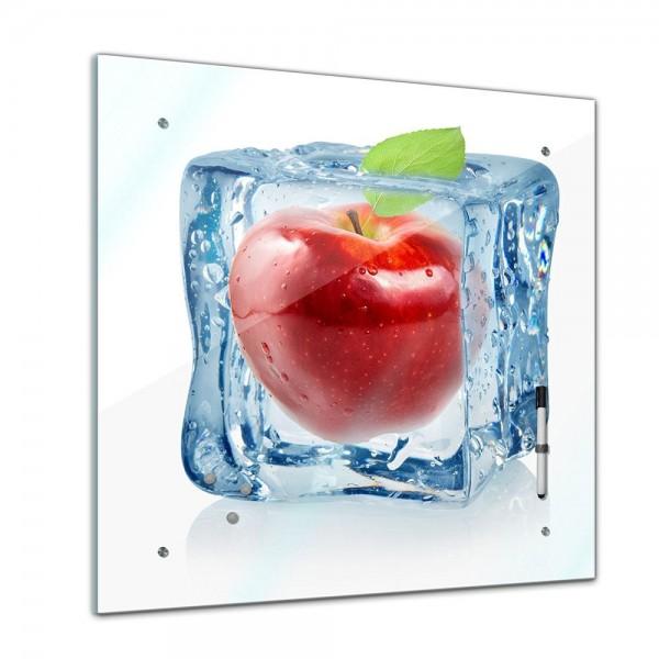 Memoboard - Essen & Trinken - Eiswürfel roter Apfel - 40x40 cm