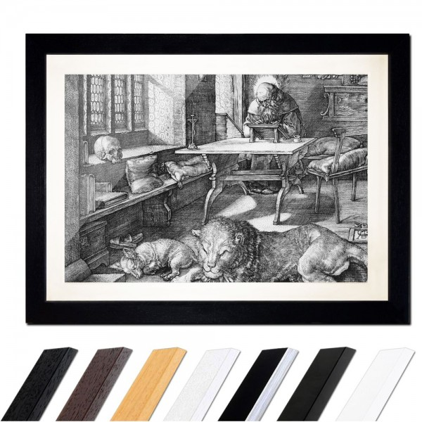 Albrecht Dürer - Der heilige Hieronymus im Gehäus - quer