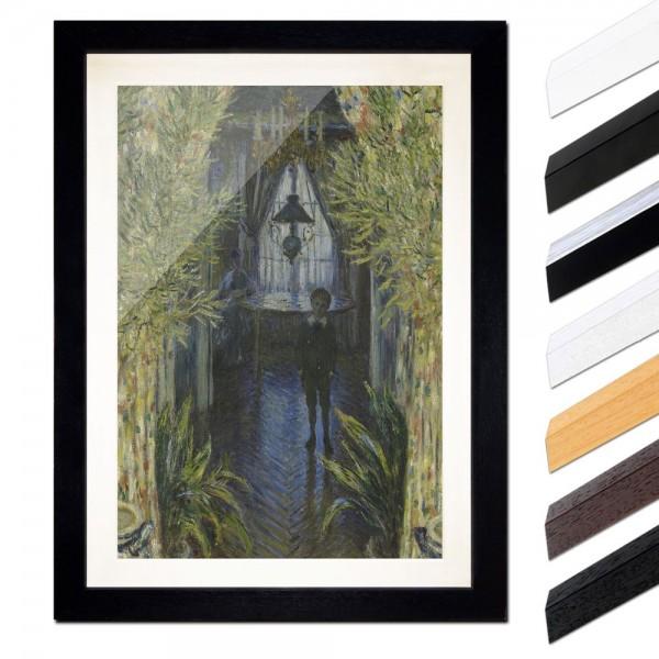 Claude Monet - Eine Ecke der Wohnung