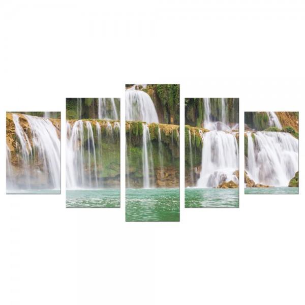Leinwandbild - Wasserfall in Vietnam