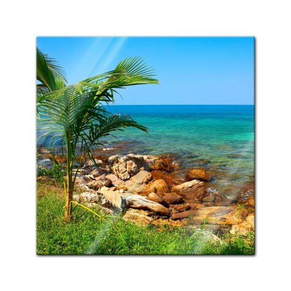 Glasbild - Seychellen 2