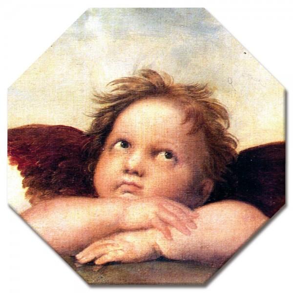 Leinwandbild - Raffael Engel II - Detail Sixtinische Madonna