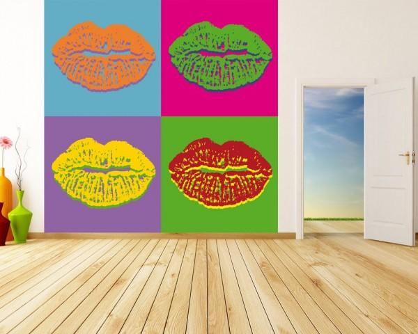 Fototapete Pop art Lips