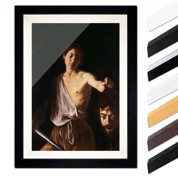 Caravaggio - David mit dem Haupt des Goliath