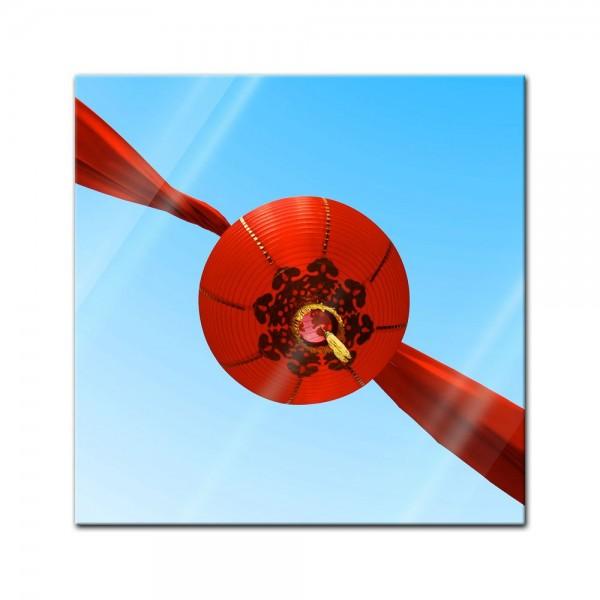 Glasbild - Chinatown
