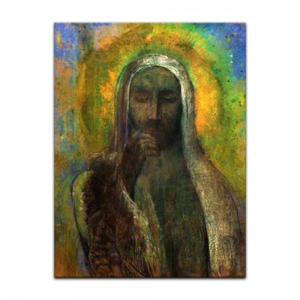 Leinwandbild - Odilon Redon - Christus in der Stille