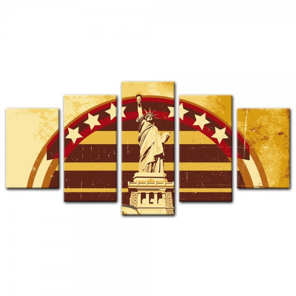 Leinwandbild - American Style I