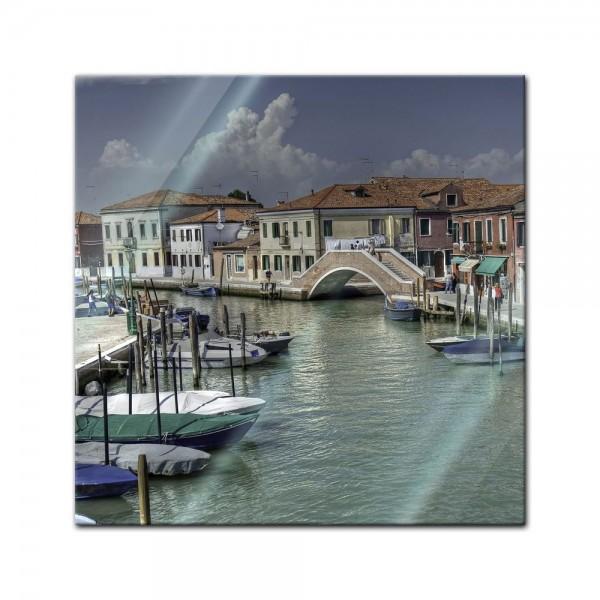 Glasbild - Venedig