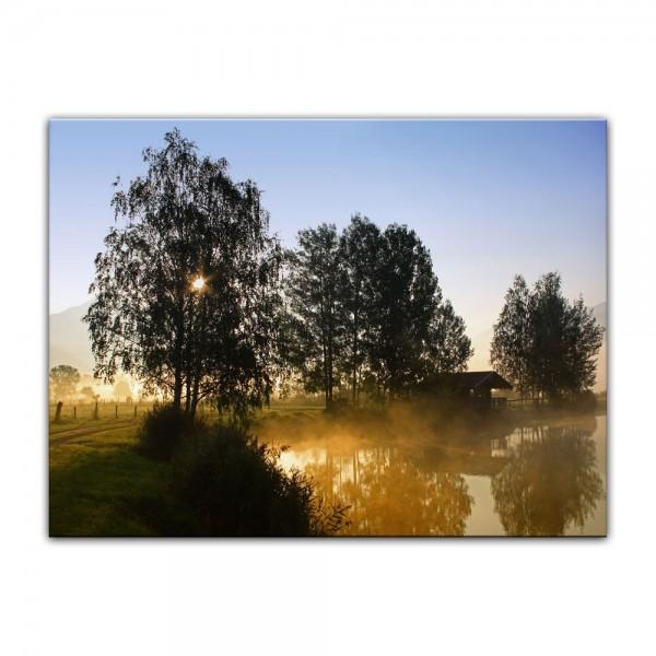 Leinwandbild - Morgenstimmung