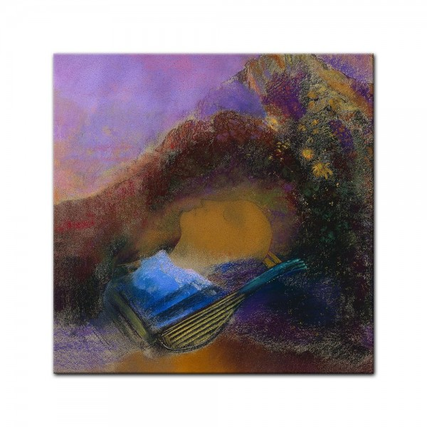 Leinwandbild - Odilon Redon - Orpheus
