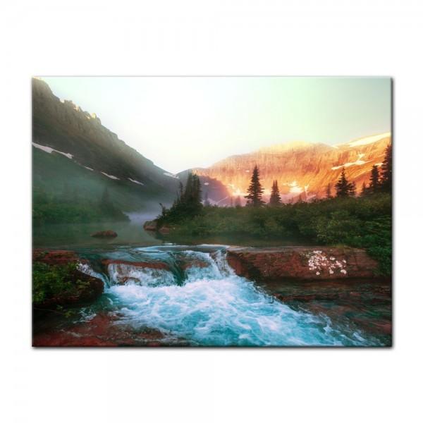 Leinwandbild - Glacier National Park, Montana - USA