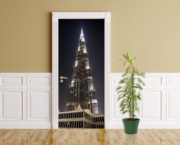 Türaufkleber - Burj Khalifa