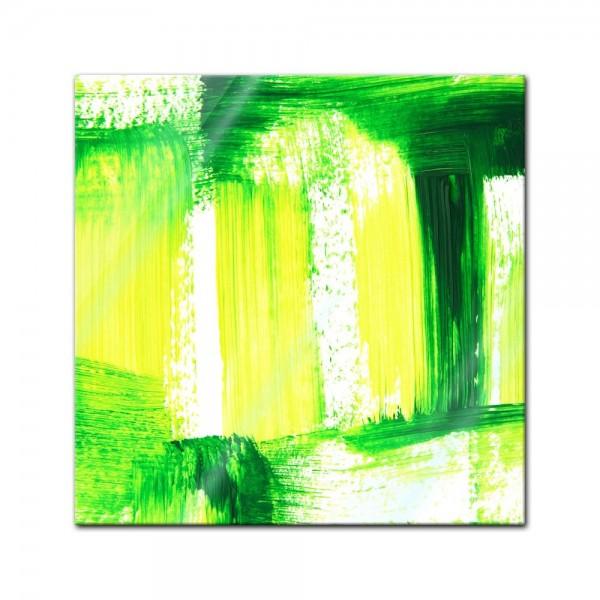 Glasbild - Abstrakte Kunst XXVIII