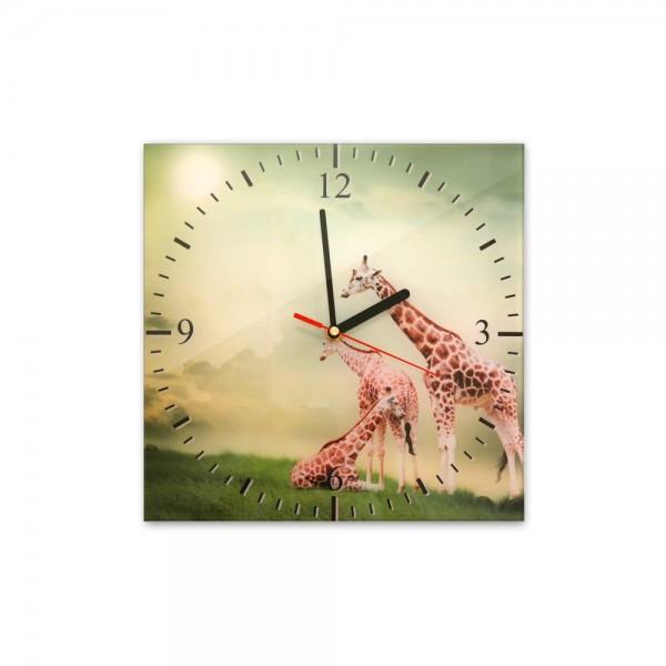 Glasuhr - Giraffen - 282