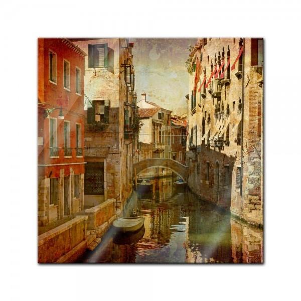 Glasbild - Venedig V