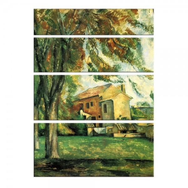 Leinwandbild - Paul Cézanne - Jas de Bouffan