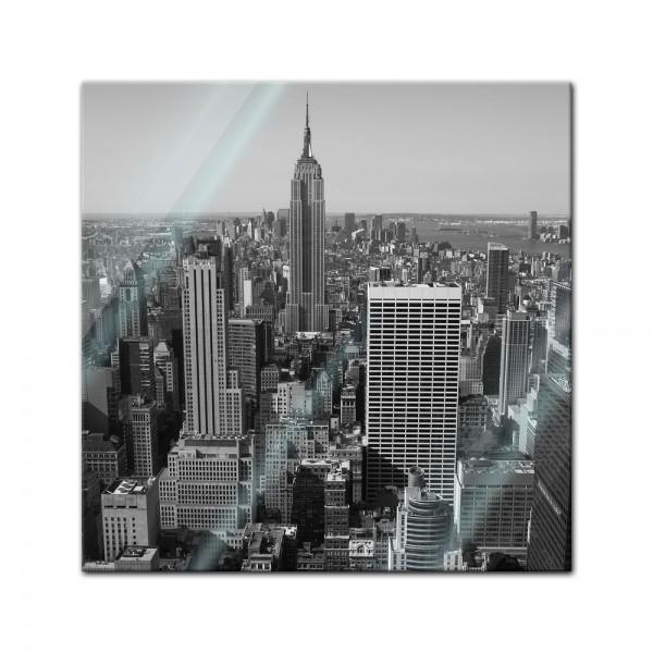 Glasbild - New York City V