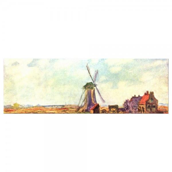 Leinwandbild - Claude Monet - Tulpen von Holland