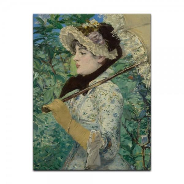 Leinwandbild - Édouard Manet - Der Frühling