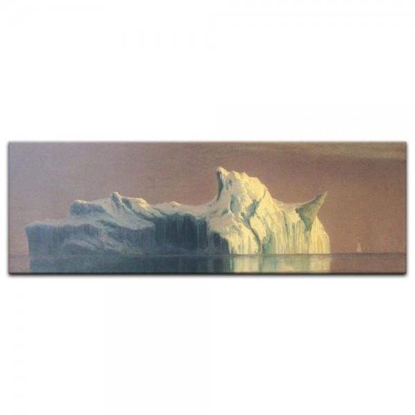 Leinwandbild - Albert Bierstadt - The Iceberg