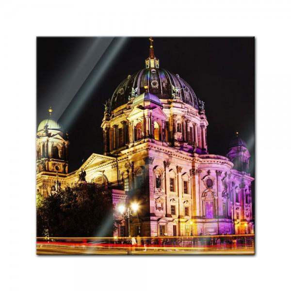 Glasbild - Berliner Dom - Festival of Lights